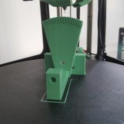 Example Print - Part for a head-changer prototype in green PLA