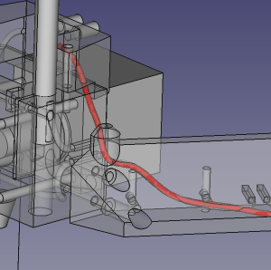 Wire Tubes on RepRap Lorenz