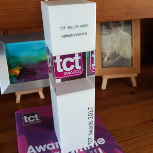 TCT Award - 3D Technologies Hall of Fame 2017