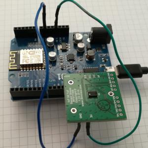 Simblee RFD77402 distance sensor